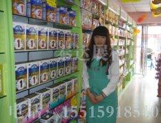 母婴用品奶粉店展柜|专业的儿童用品展柜